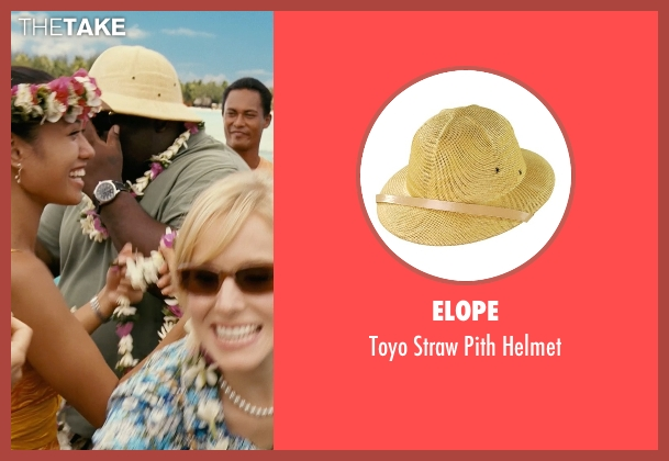 Elope beige helmet from Couple's Retreat seen with Faizon Love (Shane)