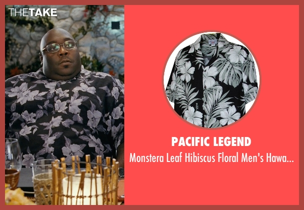 Pacific Legend black shirts from Couple's Retreat seen with Faizon Love (Shane)