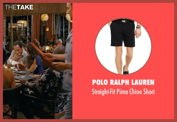 Polo Ralph Lauren black short from Couple's Retreat seen with Faizon Love (Shane)