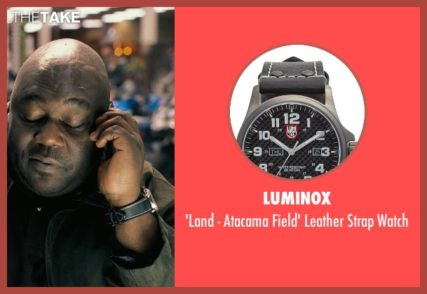 Luminox black watch from Couple's Retreat seen with Faizon Love (Shane)