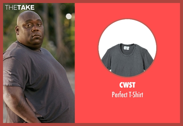 CWST gray t-shirt from Couple's Retreat seen with Faizon Love (Shane)