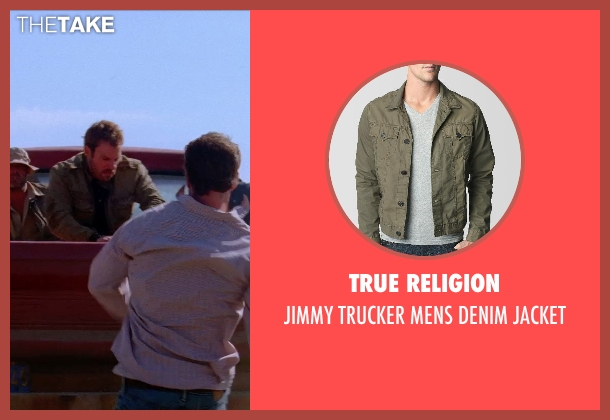 True Religion jacket from Transcendence seen with Falk Hentschel (Bob)