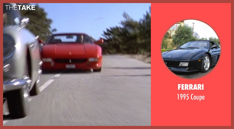 Ferrari coupe from GoldenEye seen with Famke Janssen (Xenia Onatopp)