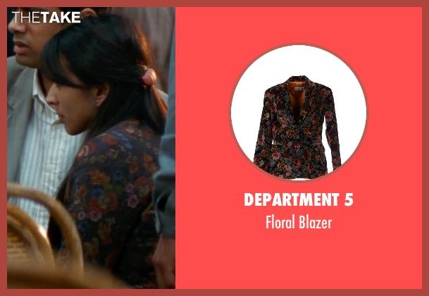 Department 5 black blazer from The Hundred-Foot Journey seen with Farzana Dua Elahe (Mahira)