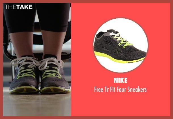Nike gray sneakers from Arrow seen with Felicity Smoak (Emily Bett Rickards)