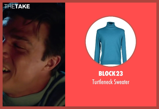 Block23 blue sweater from My All American seen with Finn Wittrock (Freddie Steinmark)