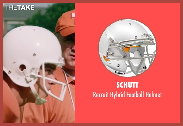 Schutt helmet from My All American seen with Finn Wittrock (Freddie Steinmark)