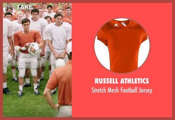 Russell Athletics jersey from My All American seen with Finn Wittrock (Freddie Steinmark)