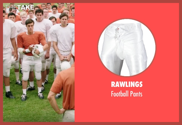 Rawlings white pants from My All American seen with Finn Wittrock (Freddie Steinmark)