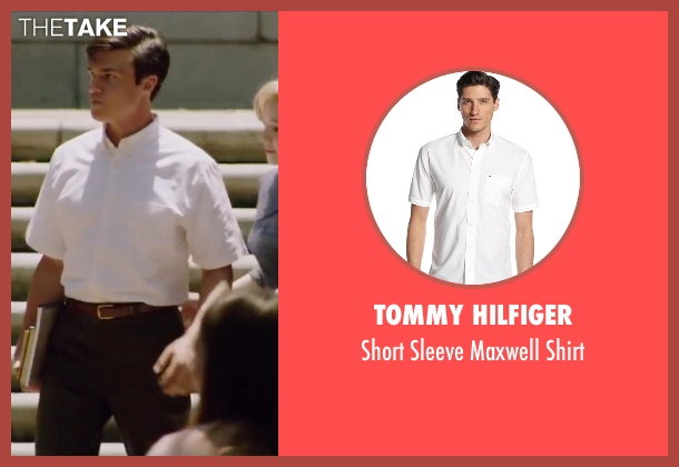 Tommy Hilfiger white shirt from My All American seen with Finn Wittrock (Freddie Steinmark)