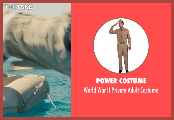 Power Costume costume from Unbroken seen with Finn Wittrock (Francis 'Mac' McNamara)