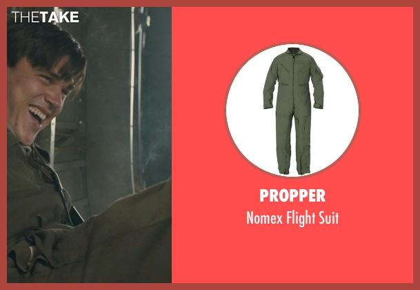 Propper suit from Unbroken seen with Finn Wittrock (Francis 'Mac' McNamara)