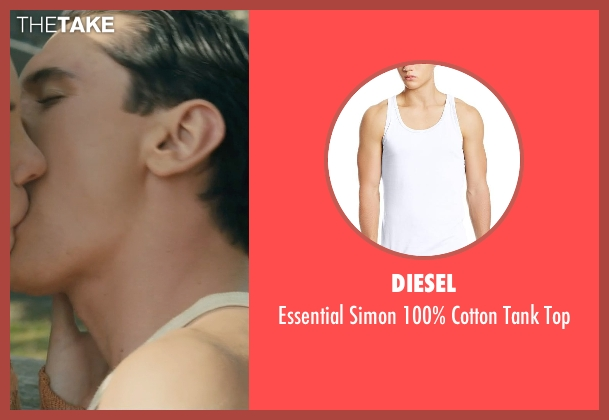 Diesel white top from Unbroken seen with Finn Wittrock (Francis 'Mac' McNamara)