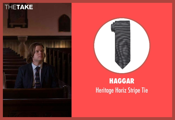 Haggar black tie from Daredevil seen with Foggy Nelson (Elden Henson)