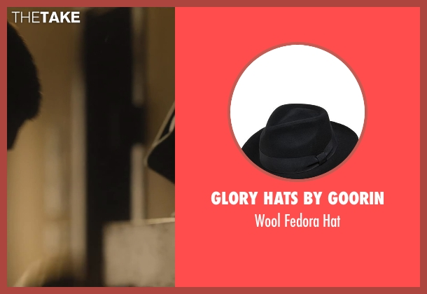 Glory Hats by Goorin black hat from Lee Daniels' The Butler seen with Forest Whitaker (Cecil Gaines)