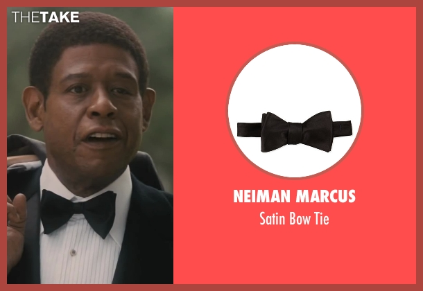 Neiman Marcus black tie from Lee Daniels' The Butler seen with Forest Whitaker (Cecil Gaines)