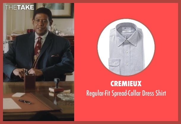 Cremieux gray shirt from Lee Daniels' The Butler seen with Forest Whitaker (Cecil Gaines)