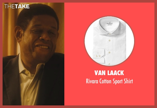 Van Laack white shirt from Lee Daniels' The Butler seen with Forest Whitaker (Cecil Gaines)