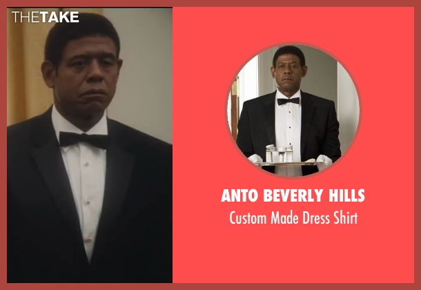 Anto Beverly Hills white shirt from Lee Daniels' The Butler seen with Forest Whitaker (Cecil Gaines)