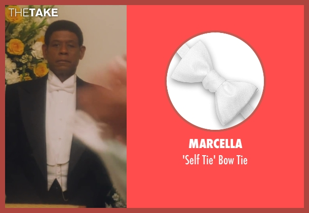 Marcella white tie from Lee Daniels' The Butler seen with Forest Whitaker (Cecil Gaines)
