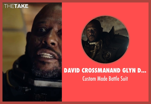 David Crossman	and Glyn Dillon (Costume Designers) suit from Rogue One: A Star Wars Story seen with Forest Whitaker (Saw Gerrera)