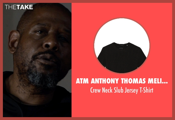 ATM Anthony Thomas Melillo black t-shirt from Southpaw seen with Forest Whitaker (Titus 'Tick' Wills)