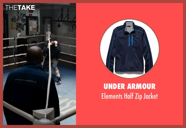 Under Armour blue jacket from Southpaw seen with Forest Whitaker (Titus 'Tick' Wills)