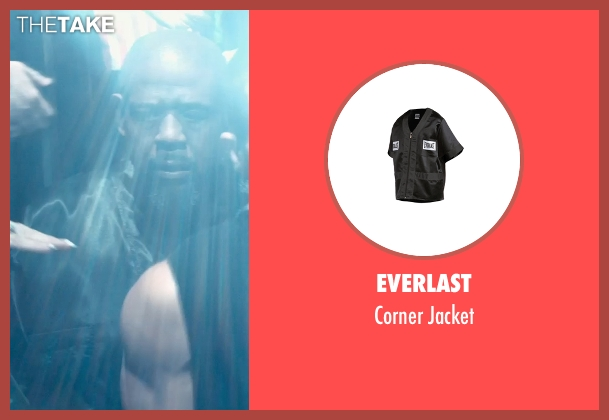 Everlast jacket from Southpaw seen with Forest Whitaker (Titus 'Tick' Wills)