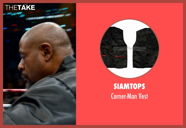 Siamtops vest from Southpaw seen with Forest Whitaker (Titus 'Tick' Wills)