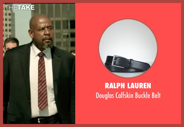 Ralph Lauren black belt from Taken 3 seen with Forest Whitaker (Franck Dotzler)