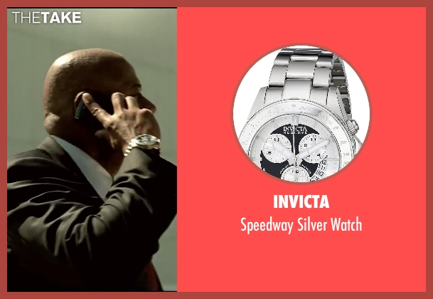 Invicta watch from Taken 3 seen with Forest Whitaker (Franck Dotzler)