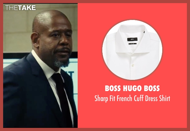 Boss Hugo Boss white shirt from Taken 3 seen with Forest Whitaker (Franck Dotzler)