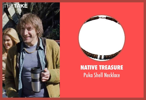 Native Treasure brown necklace from Cabin in the Woods seen with Fran Kranz (Marty)