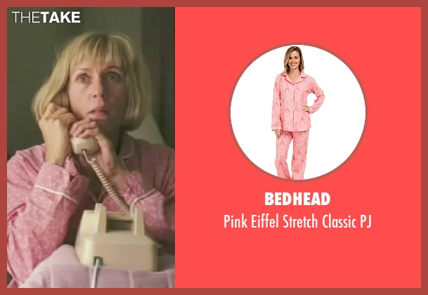 Bedhead pink pj from Burn After Reading seen with Frances McDormand (Linda Litzke)