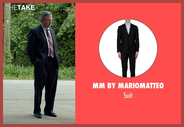 Mm By Mariomatteo black suit from Need for Speed seen with Frank Brennan (60 Year Old Man as actor)