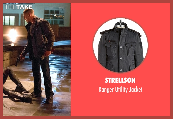 Strellson black jacket from Daredevil seen with Frank Castle / The Punisher (Jon Bernthal)