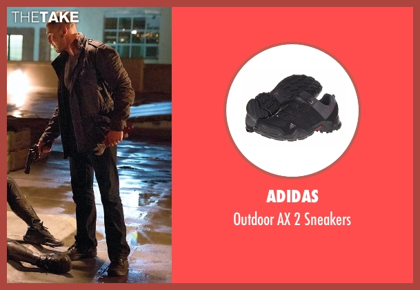 Adidas black sneakers from Daredevil seen with Frank Castle / The Punisher (Jon Bernthal)