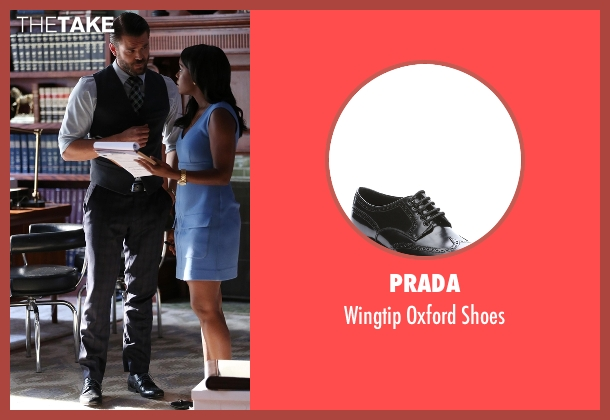 Prada black shoes from How To Get Away With Murder seen with Frank Delfino  (Charlie Weber)