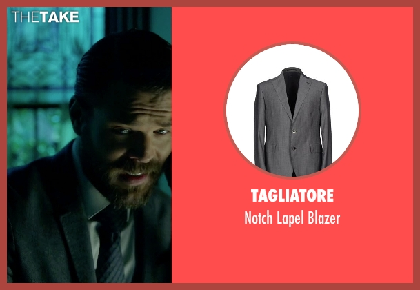 Tagliatore gray blazer from How To Get Away With Murder seen with Frank Delfino  (Charlie Weber)