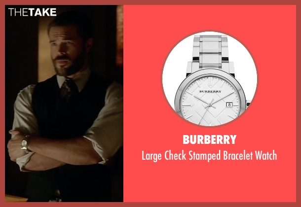 Burberry silver watch from How To Get Away With Murder seen with Frank Delfino  (Charlie Weber)