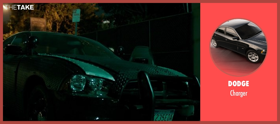 Dodge charger from The Purge: Anarchy seen with Frank Grillo (Sergeant)