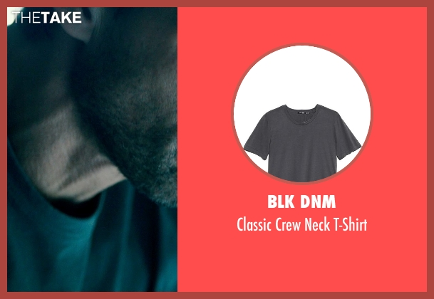 BLK DNM gray t-shirt from The Purge: Anarchy seen with Frank Grillo (Sergeant)