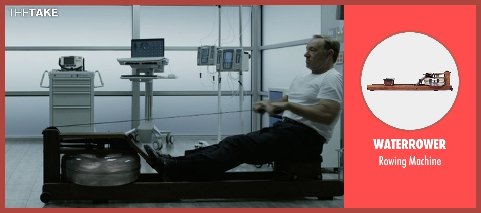 WaterRower machine from House of Cards seen with Frank Underwood (Kevin Spacey)