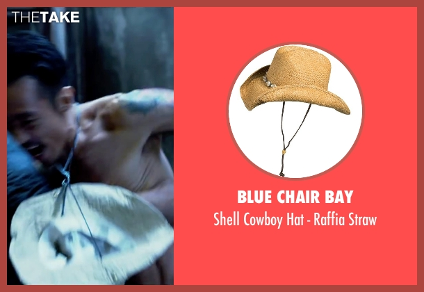 Blue Chair Bay straw from Lucy seen with Frédéric Chau (Unknown Character)