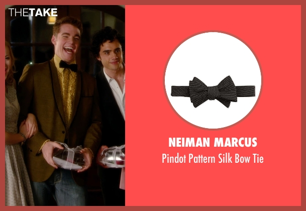 Neiman Marcus black tie from Barely Lethal seen with Gabriel Basso (Gooch)