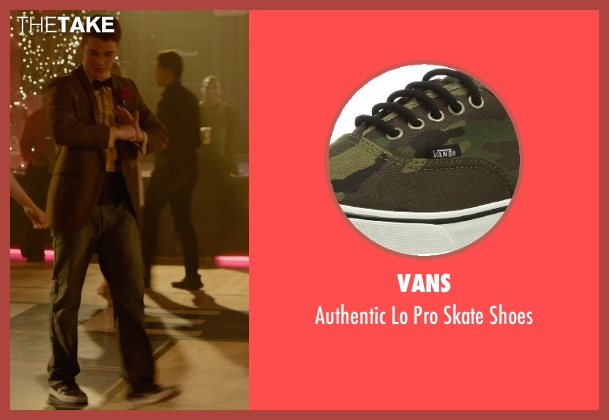 Vans green shoes from Barely Lethal seen with Gabriel Basso (Gooch)