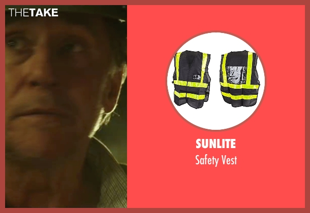 Sunlite vest from The 33 seen with Gabriel Byrne (Andre Sougarret)