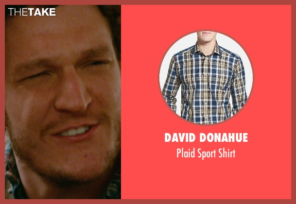 David Donahue blue shirt from Ricki and the Flash seen with Gabriel Ebert (Max)