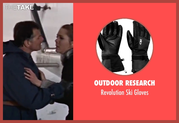 Outdoor Research black gloves from On Her Majesty's Secret Service seen with Gabriele Ferzetti (Draco)
