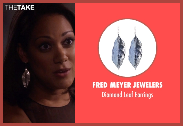 Fred Meyer Jewelers silver earrings from Nashville seen with Gabriella Manning  (Cynthia Kaye McWilliams	)